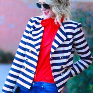 Cabi   Cruise Jacket Military Style Blazer Buttons